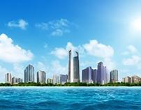 Al Thuriah Construction Project City Scape