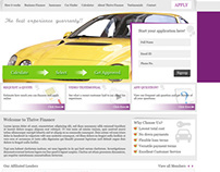Free PSD download for automotive finance company