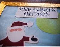 Cambodian Santa Card