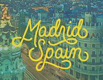 Hand-lettered postcards