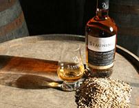 Hjemmeside til Stauning Whisky