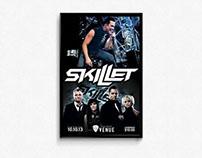 Skillet Concert Poster
