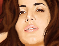 Katrina Kaif Digital Painting