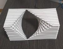 Scultura Paraboloide Iperbolica - Hyperbolic Paraboloid
