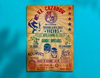 El Cazador - Diseño de cartel para concierto