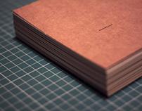 Hand-bound notebooks