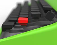 3D Olivetti Lettera 32