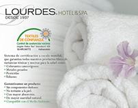 Toallas Lourdes: Catálogo y Gráfica Promocional