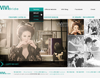 VIVI bride website demo
