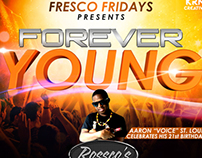 FOREVER YOUNG :: Party Flyer
