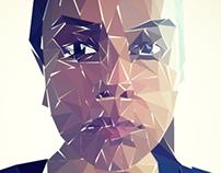 Triangles- CG Self Portrait