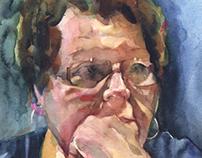 Sue (Watercolor)