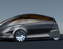 Voyager, E- Minivan Brandig-Design project