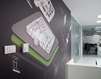 Interior design for Business Incubator