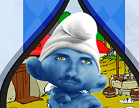 Smurfs card game