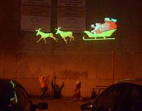 Vianočné trhy (mobile projection)