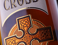 "Whiskey label design ""Celtic Cross"""