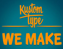 We Make Fonts!