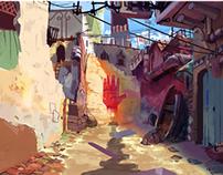 2012 Kudayana_ visual and backgrounds development