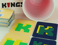 Kings: Drinking Game Playing Cards