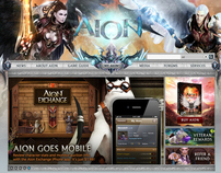 Aion Online Redesign