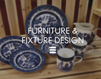 Retail furniture & fixture design