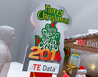 TEData New Year Booth