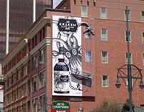 Kraken Rum 3D Billboards