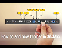How to add new toolbar in 3dsMax
