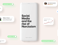 Social Media and the rise of Narcissism.