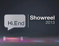 SHOW reel 2013 | Hi.End Studios
