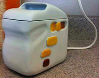 Golden Brown Toaster