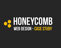 CASE STUDY - Honeycomb One Page PSD Template