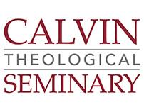 Calvin Seminary Nameplate