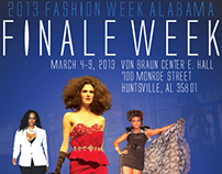 Fashion Week Alabama Finale Week 2013 Poster