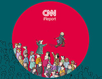 CNN ireport - Cannes Lions 2013 Print ADS