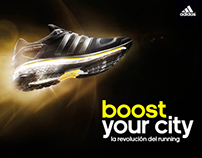 BOOST YOUR CITY - adidas