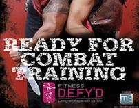 Combat Training Poster