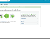 Evernote-Salesforce integration