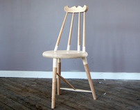 Crested Comb-back Chair