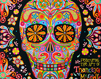 Sugar Skulls 2014 Calendar by Thaneeya McArdle