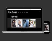 Makeup Artist Portfolio site