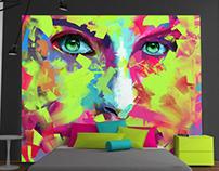 Digital Paint Portrait
