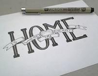Hand Lettering : These Days