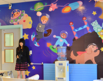 Wall of Smiles Murals