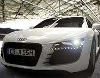 Audi R8 - visualization