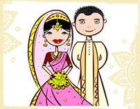 My Digital Wedding Card Invite