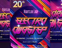 Electro Dubstep Flyer Template