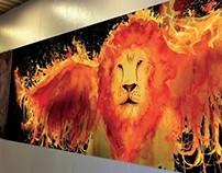 Passage des lions
