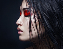 Dark Red Night